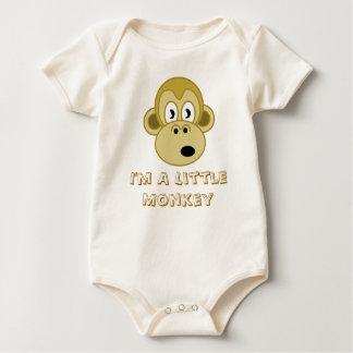 I'm A Little Monkey Baby Bodysuit