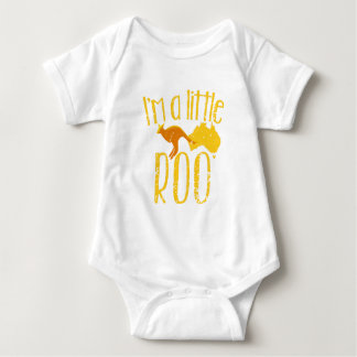 I'm a little roo baby maternity cute design tee shirt