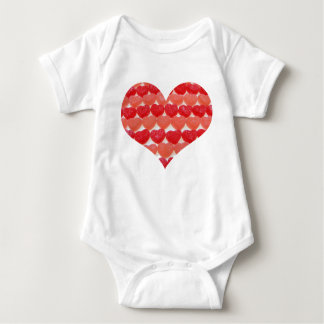 I'm A Little Sweety Candy Hearts Baby Bodysuit