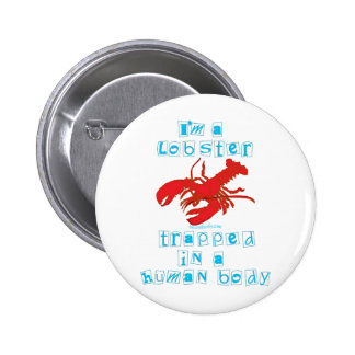 I'm a Lobster Buttons