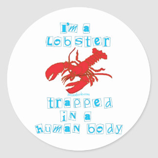 I'm a Lobster Stickers