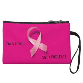 I'm a Lover & a Fighter Mini Clutch Wristlet Purses