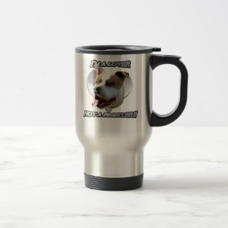 I'm a lover not a fighter pitbull mug