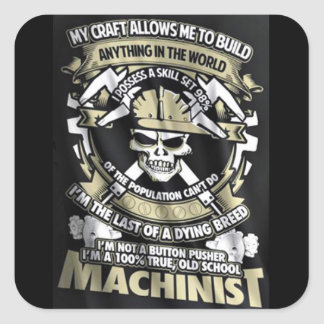 I'm a Machinist Sticker