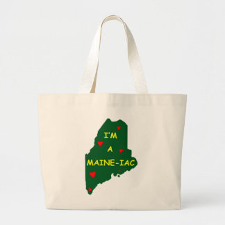 I'M A MAINE IAC LARGE TOTE BAG