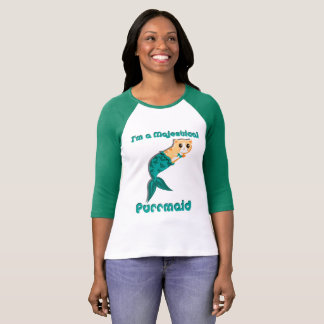 I'm a Majestical Purrmaid (Teal) T-Shirt