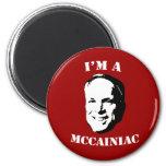 I'm a McCainiac Magnet