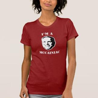 I'm a Mccainiac Tshirts