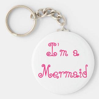 I'm a Mermaid Key Chain