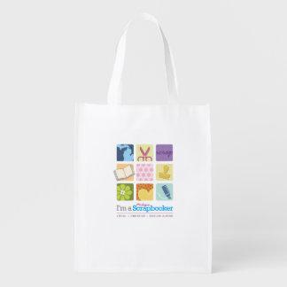 """""""I'm a Michigan Scrapbooker"""" reusable bag!"""