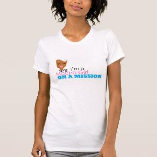 I'm a Mocha Girl on a Mission. Med. Brown Girl T Shirts