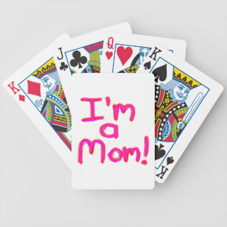 I'M A MOM! BICYCLE PLAYING CARDS