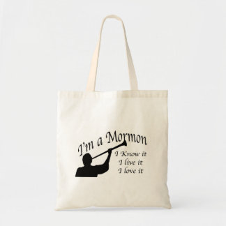 """I'm A Mormon"" Bag. Tote Bag"
