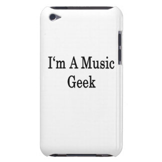 I'm A Music Geek Barely There iPod Case