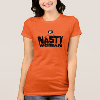 I'm a Nasty Woman face T-Shirt