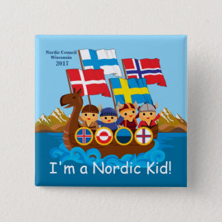 I'm a Nordic Kid Button