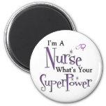 I'm A Nurse 6 Cm Round Magnet