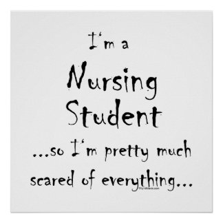 I'm a Nursing Student... Poster