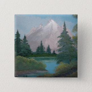I'm a painter / artist 15 cm square badge