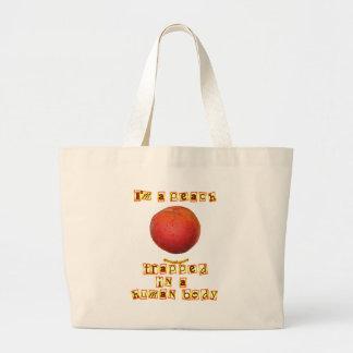 I'm a Peach ... Canvas Bags