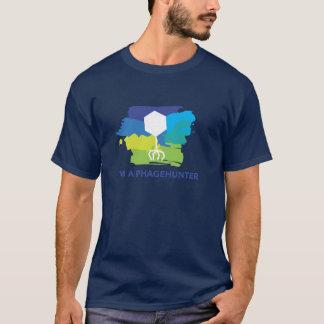 I'm a Phagehunter Logo T-Shirt (Blue/Green)