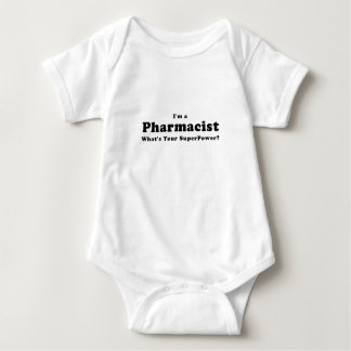 Im a Pharmacist Whats Your Superpower Baby Bodysuit