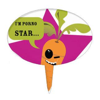 i'm a porn star !! © Les Hameçons Cibles Cake Pick