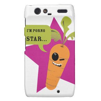 i'm a porn star !! © Les Hameçons Cibles Motorola Droid RAZR Cover