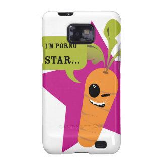 i'm a porn star !! © Les Hameçons Cibles Samsung Galaxy S2 Cases