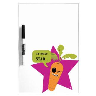 i'm a porn star !! © Les Hameçons Cibles Dry Erase Boards