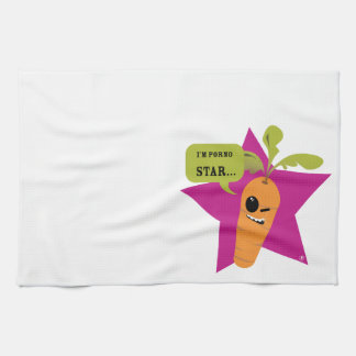 i'm a porn star !! © Les Hameçons Cibles Kitchen Towels