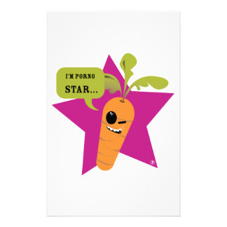 i'm a porn star !! © Les Hameçons Cibles Personalised Stationery