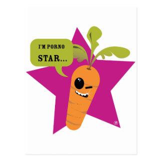 i'm a porn star !! © Les Hameçons Cibles Postcards