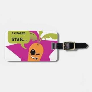 i'm a porn star !! © Les Hameçons Cibles Tag For Luggage
