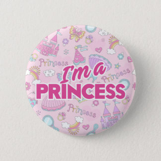 I'm a Princess Standard, 2¼ Inch Round Button