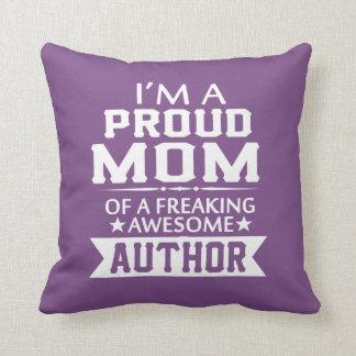 I'M A PROUD AUTHOR'S MOM CUSHION