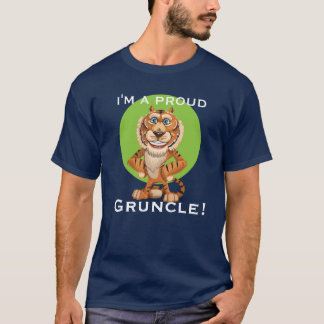 """I'm a Proud Gruncle!"" with Smiling Tiger T-Shirt"