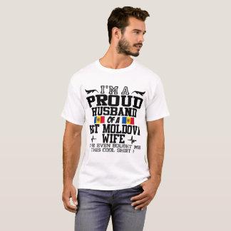 I'M A PROUD HUSBAND OF A HOT MOLDOVA WIFE T-Shirt