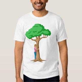 I'm A Proud Tree Hugger T-shirts