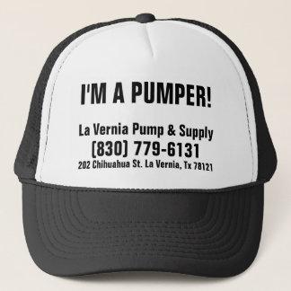 I'm A Pumper! La Vernia Pump & Supply Trucker Hat