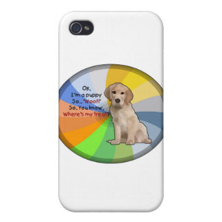 I'm a Puppy Cover For iPhone 4