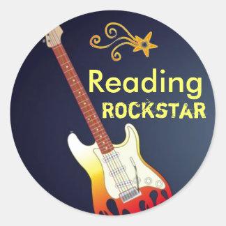 I'm a Reading Rockstar Stickers