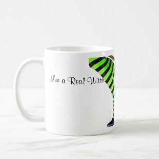 """""""I'm a Real Witch"""" Coffee Mug"""