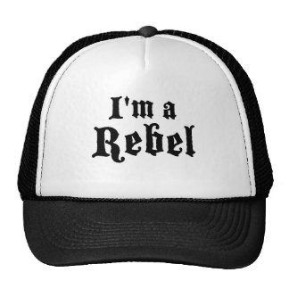 I'm a rebel cap