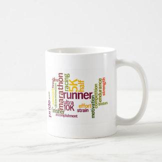 I'm a Runner Words Coffee Mug