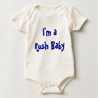 I'm a Rush Baby Baby Bodysuit