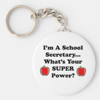 I'm a School Secretary Key Ring