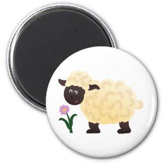 I'm a Sheep 6 Cm Round Magnet
