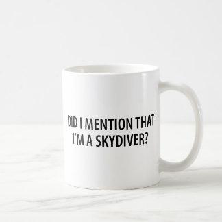 I'm A Skydiver Classic White Coffee Mug