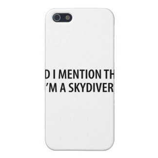 I'm A Skydiver iPhone 5 Cover